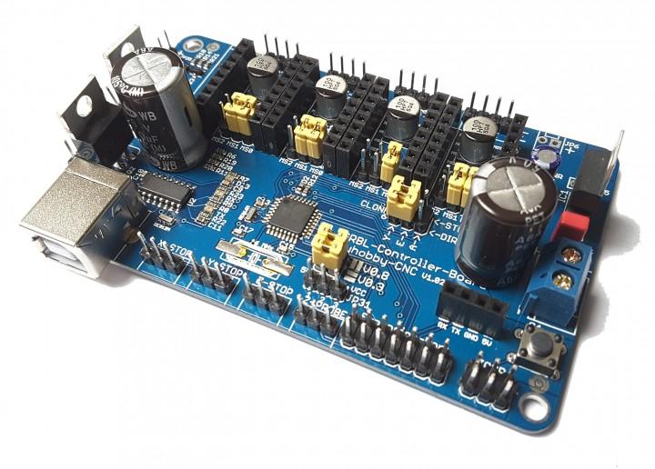 GRBL -Controller-Board Arduino und POLOLU-Treiber | myhobby-CNC on