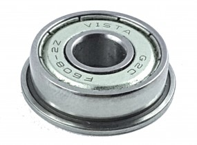 Flansch-Rollenkugellager F608