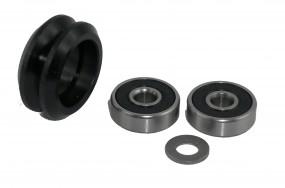 Dual-V-Wheel Rollen Kit